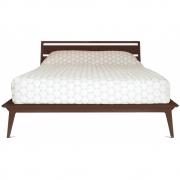 Case Furniture - Valentine Bett Asia King Size | Walnuss