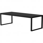 Case Furniture - Eos Communal Outdoortisch Schwarz