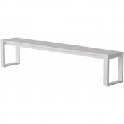 Case Furniture - Eos Communal Outdoorbank Weiß