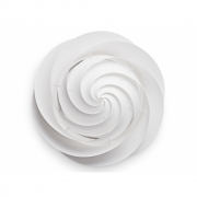 Le Klint - Swirl 1320 Wall and Ceiling Lamp L   White