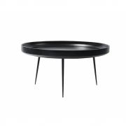Mater - Bowl Tisch XLarge   Schwarz