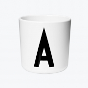 Design Letters - AJ Porzellan Becher A