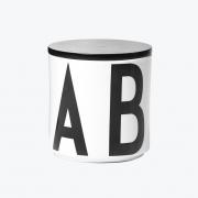 Design Letters - Big AJ Porcelain Multi Jar Black