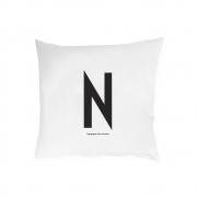 Design Letters - Kissenbezug A - Z N | 60 x 50 cm