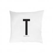 Design Letters - Kissenbezug A - Z T   60 x 50 cm