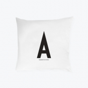 Design Letters - Pillowcase  A - Z (80 x 80 cm) A
