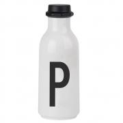 Design Letters - Trinkflasche A - Z P