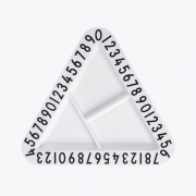 Design Letters - AJ Melamin Snackteller dreieckig