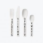 Design Letters - AJ Melamine Cutlery Set (4 Pcs.)