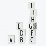 Design Letters - AJ Wooden Letters Cubes (28 Pcs.)