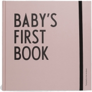 Design Letters - Baby's First Book Rosa (Englisch)