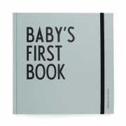 Design Letters - Baby's First Book Turquoise (English)