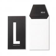 Design Letters - AJ Personal Greeting Card L