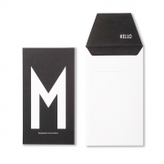 Design Letters - AJ Personal Greeting Card M