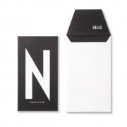 Design Letters - AJ Personal Greeting Card N