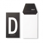 Design Letters - AJ Personal Greeting Card D
