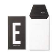 Design Letters - AJ Personal Greeting Card E