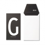 Design Letters - AJ Personal Greeting Card G