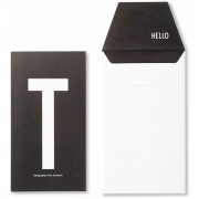 Design Letters - AJ Personal Greeting Card