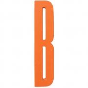 Design Letters - Wooden Letters lettre en bois intérieur B | Orange