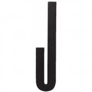Design Letters - Wooden Letters Indoor J   Black