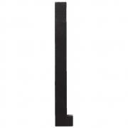 Design Letters - Wooden Letters Dekobuchstabe Indoor L | Schwarz