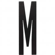 Design Letters - Wooden Letters Dekobuchstabe Indoor M | Schwarz