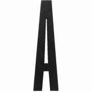 Design Letters - Wooden Letters Indoor A | Black