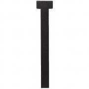 Design Letters - Wooden Letters Dekobuchstabe Indoor T | Schwarz