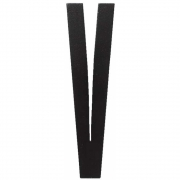 Design Letters - Wooden Letters Indoor V | Black