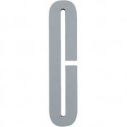 Design Letters - Wooden Letters Dekobuchstabe Indoor C | Grau
