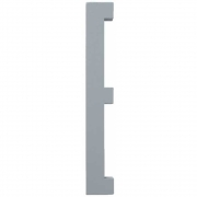 Design Letters - Wooden Letters Indoor E | Grey