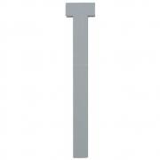 Design Letters - Wooden Letters Dekobuchstabe Indoor T | Grau