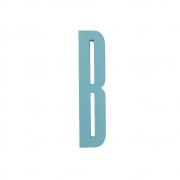 Design Letters - Wooden Letters lettre en bois intérieur B | Turquoise