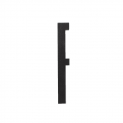 Design Letters - Wooden Letters Indoor F   Black