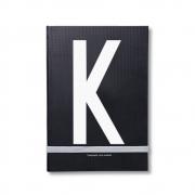 Design Letters - AJ Personal Notizbuch A - Z K