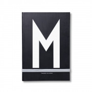 Design Letters - AJ Personal Notizbuch A - Z M