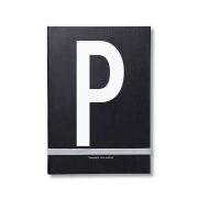 Design Letters - AJ Personal Notizbuch A - Z P