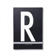 Design Letters - AJ Personal Notizbuch A - Z R