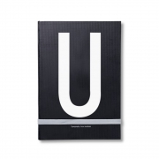 Design Letters - AJ Personal Notizbuch A - Z U