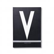 Design Letters - AJ Personal Notizbuch A - Z V