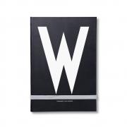 Design Letters - AJ Personal Notizbuch A - Z W