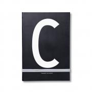 Design Letters - AJ Personal Notizbuch A - Z C