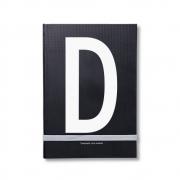 Design Letters - AJ Personal Notizbuch A - Z D