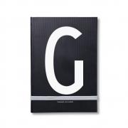 Design Letters - AJ Personal Notizbuch A - Z G