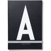 Design Letters - AJ Personal Notebook A - Z