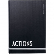 Design Letters - AJ Actions Notebook
