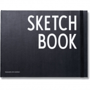 Design Letters - AJ Sketchbook Notebook