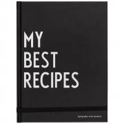 Design Letters - My Best Recipes Rezeptbuch