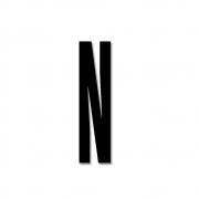 Design Letters - Acrylic Letter N | Black